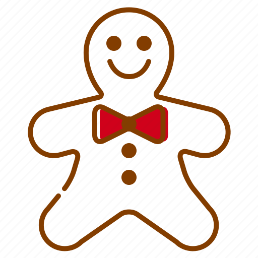 candy, christmas, cookie, ginger, holidays, red, xmas icon