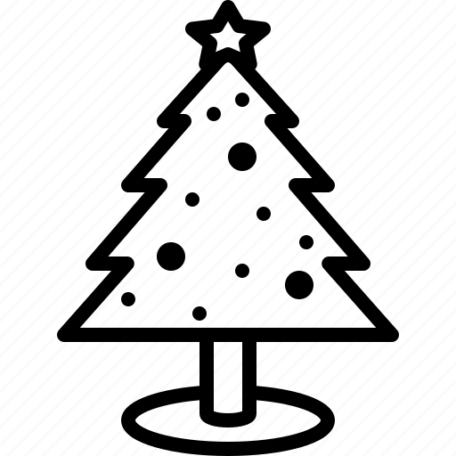 christmas, decoration, holidays, ornaments, tree, winter, xmas icon