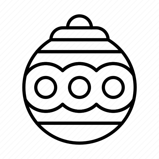 christmas, decoration, newyear, toy, tree icon