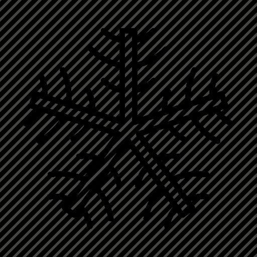 christmas, ice, snow, snowflake, winter icon