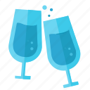 bottle, celebration, drink, party, xmas icon