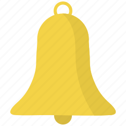bell, christmas icon