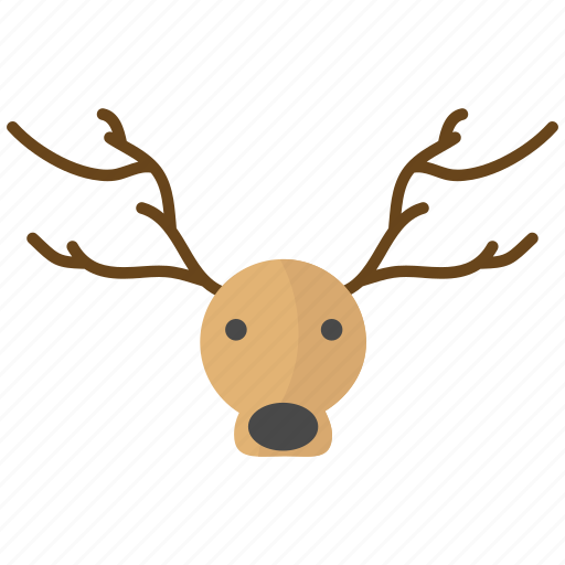 christmas, claus, deer, new year, rein, santa icon