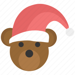 christmas, claus, santa icon