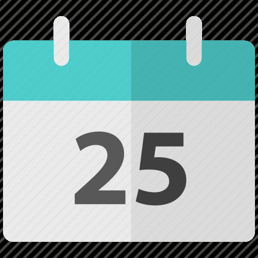 calendar, christmas, holiday icon