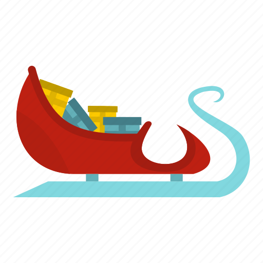 blog, christmas, claus, gifts, holiday, santa, sleigh icon