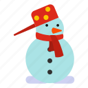 christmas, hat, holiday, season, snow, snowman, winter icon