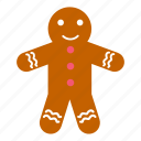 christmas, cookie, dessert, food, gingerbread, sweet, traditional icon