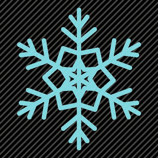 blog, cold, season, shape, snow, snowflake, winter icon