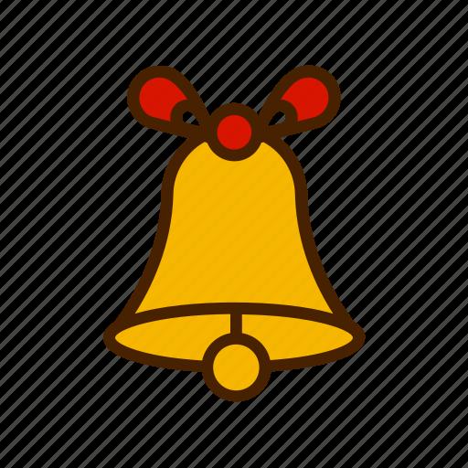 bell, celebration, christmas, winter, xmas icon