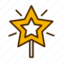 celebration, christmas, star, winter, xmas icon