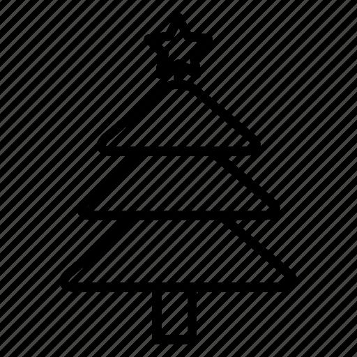 celebration, christmas, tree, winter, xmas icon