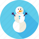 christmas, merry, new year, snow, snowman, winter, xmas icon