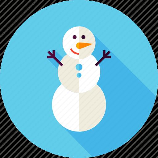 christmas, merry, new year, snow, snowman, winter, xmas icon