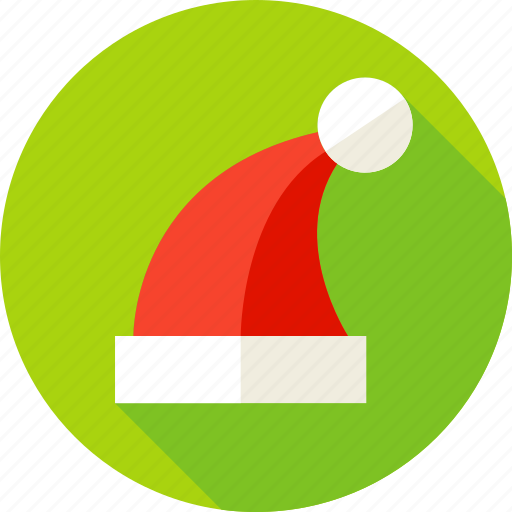 christmas, hat, holiday, merry christmas, new year, santa, santa's hat icon