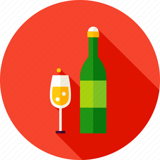 Alcohol, beverage, bottle, champagne, drink, glass, wine icon - Download on Iconfinder