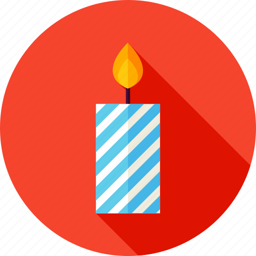 candle, celebrate, decor, decoration, fire icon
