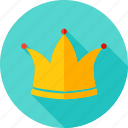 diadem, crown, coronal, coronet, holiday, celebration icon