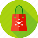 bag, christmas, consumerism, holiday, package, sale, shopping icon