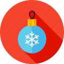 ball, celebrate, christmas, merry, new year, snowflake, xmas icon