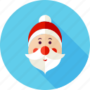 beard, christmas, claus, new year, santa, santa claus, xmas icon