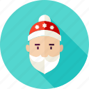 beard, christmas, claus, santa, santa claus, winter, xmas icon
