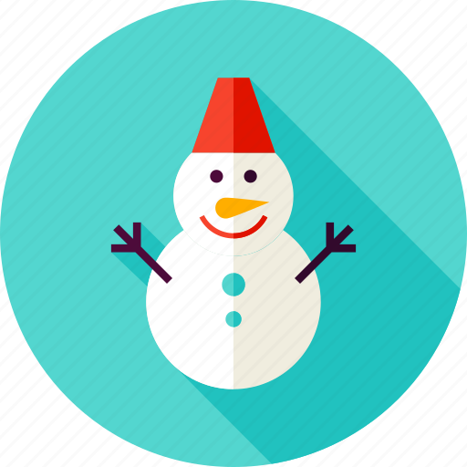 christmas, holiday, merry christmas, new year, snowman, winter, xmas icon