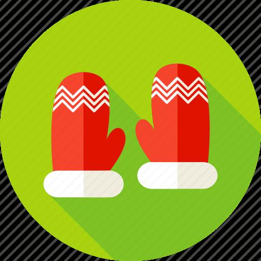 celebration, christmas, glove, gloves, holiday, seasonal, winter icon