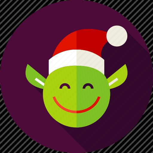 christmas, elf, fairy, holiday, leprechaun, pixy, santa icon
