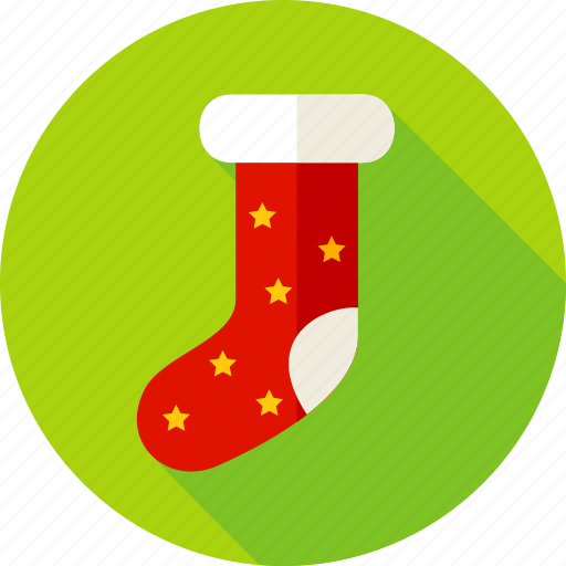 christmas, gift, gift sock, merry christmas, present, sock, xmas icon