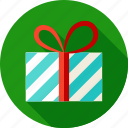 box, christmas, gift, holiday, new year, package, present icon