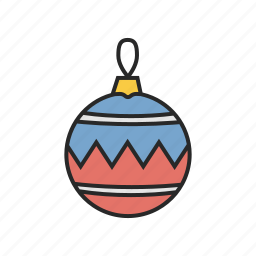 christmas, decoration, new, winter, year icon