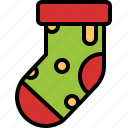 christmas, decoration, ornament, sock, stocking