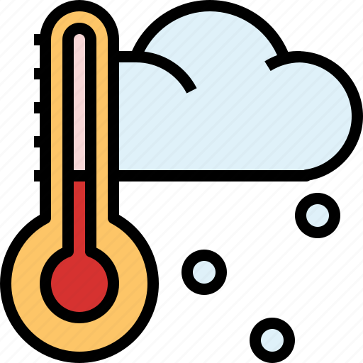 frost0a, nature, snow, snowflake, temperature, thermometer, winter icon