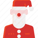 avatar, christmas, claus, decoration, santa, xmas icon