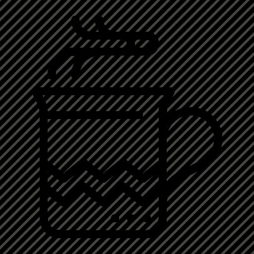 chocolate, christmas, cup, drink, hot, mug, xmas icon