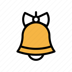 bell, christmas, decoration, holiday, winter, xmas icon