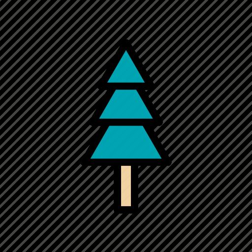 christmas, decoration, fir, holiday, tree, winter, xmas icon
