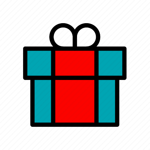 celebration, christmas, gift, holiday, present, ribbon, xmas icon