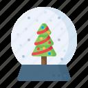 gift, crystalball, snowfall, xmas, showpiece, christmas, present