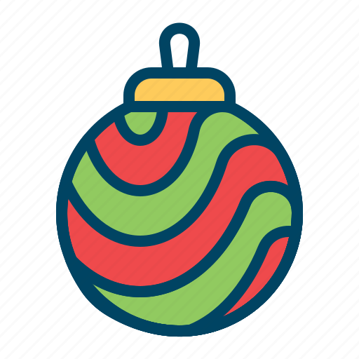 ball, bells, christmas, decorationlight, elements, holiday, light icon