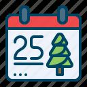 calendar, christmas, day, month, xmas