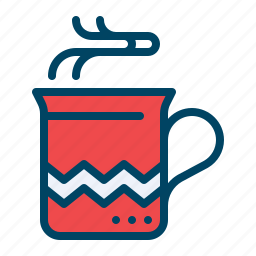 chocolate, christmas, coffee, cup, drink, hot, mug icon