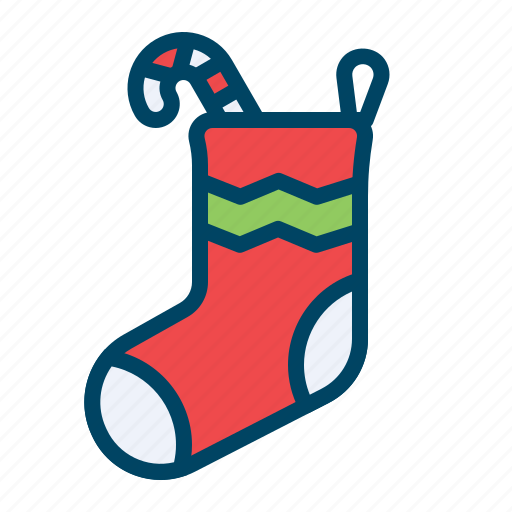 Candy, christmas, gift, sock, socks, sweet, xmas icon - Download on Iconfinder