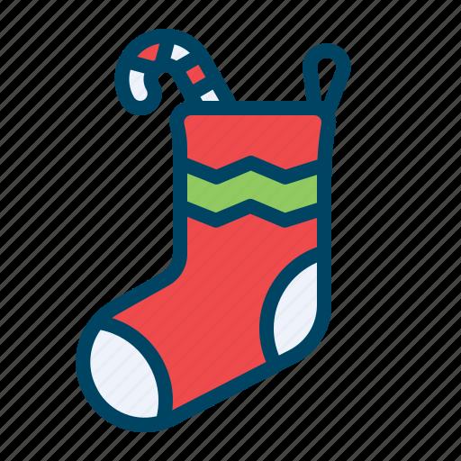candy, christmas, gift, sock, socks, sweet, xmas icon