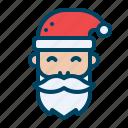 avatar, charachter, christmas, man, santa, santaclaus, xmas icon