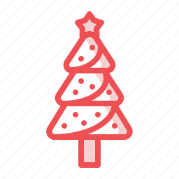 christmas, decoration, fir, pine, pinetree, tree, xmas icon