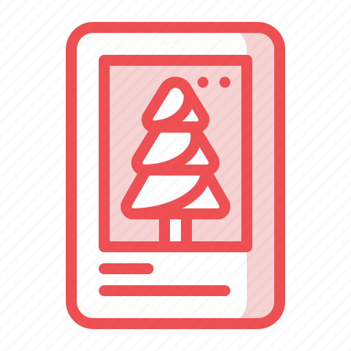 card, christmas, greetingcard, invitation, message, mobile, wish icon