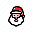 santa, santa clause icon