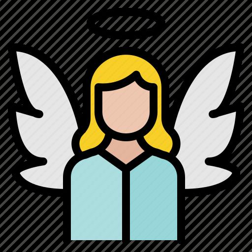 angel, christmas, wings, xmas icon